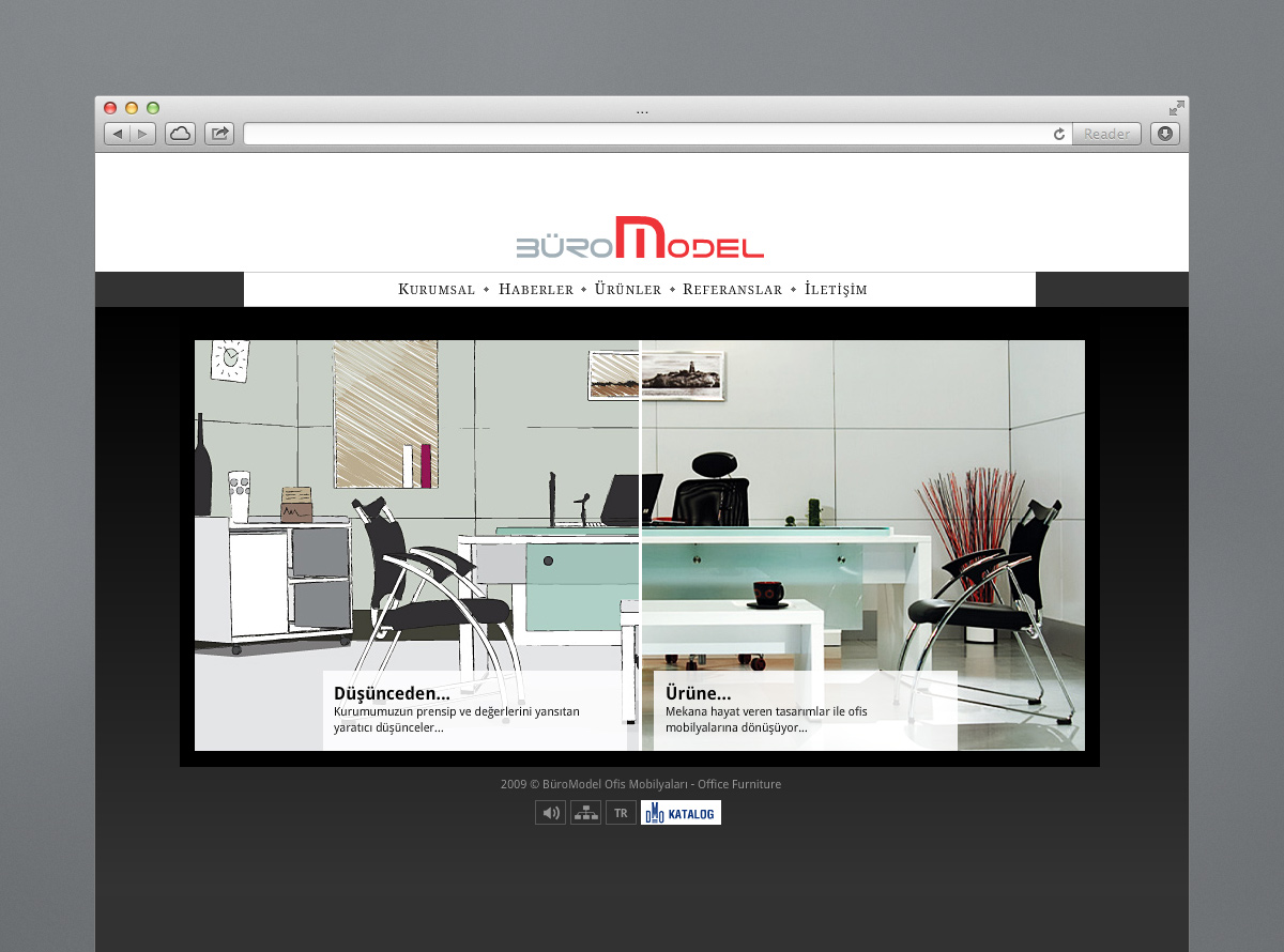 Buromodel Web Site Design